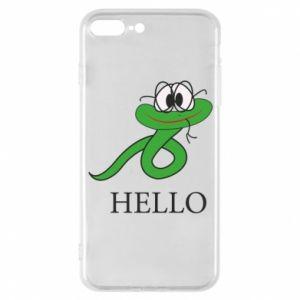 iPhone 7 Plus case Hello