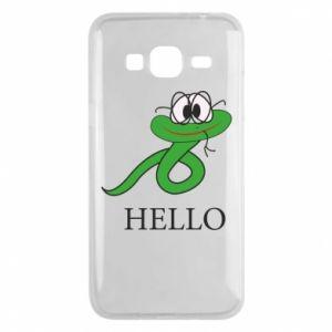 Samsung J3 2016 Case Hello