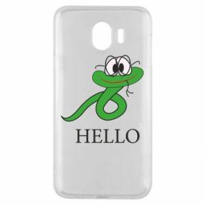 Samsung J4 Case Hello