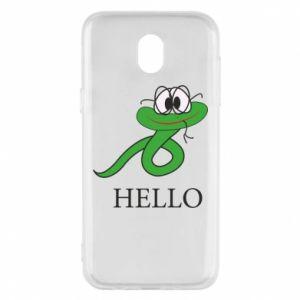 Samsung J5 2017 Case Hello