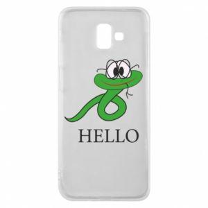 Samsung J6 Plus 2018 Case Hello