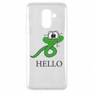 Samsung A6+ 2018 Case Hello