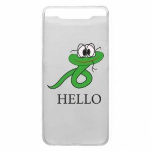 Samsung A80 Case Hello