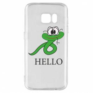 Etui na Samsung S7 Hello