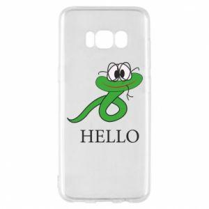 Etui na Samsung S8 Hello