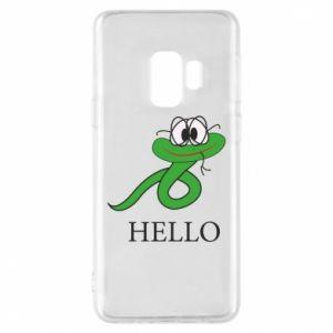 Etui na Samsung S9 Hello