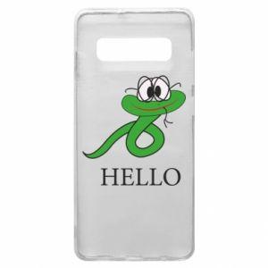 Etui na Samsung S10+ Hello