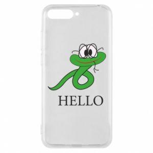 Huawei Y6 2018 Case Hello