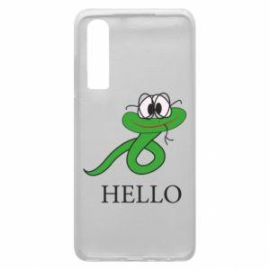 Huawei P30 Case Hello