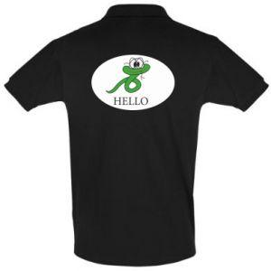 Koszulka Polo Hello