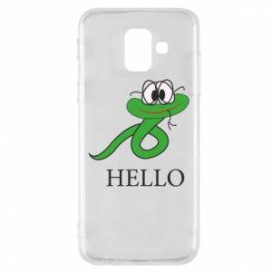 Samsung A6 2018 Case Hello