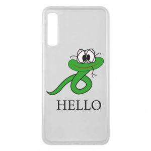 Etui na Samsung A7 2018 Hello