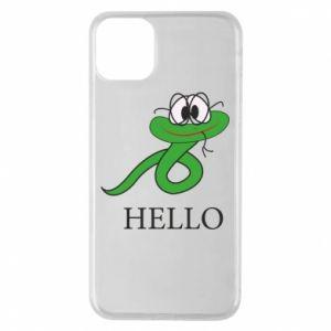 iPhone 11 Pro Max Case Hello