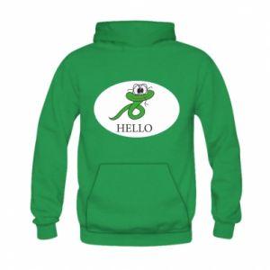Kid's hoodie Hello