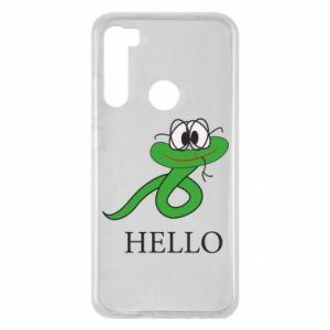 Xiaomi Redmi Note 8 Case Hello