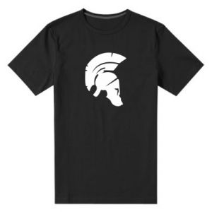 Męska premium koszulka Hełm