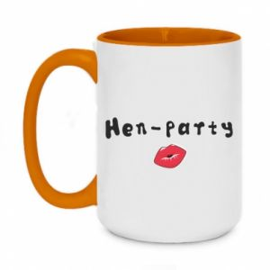 Two-toned mug 450ml Hen-party