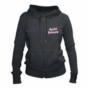 Women's zip up hoodies Hentai princess