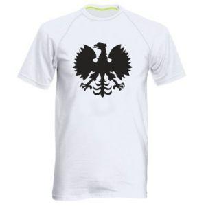 Koszulka sportowa męska Heraldyczny orzeł