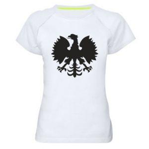 Koszulka sportowa damska Heraldyczny orzeł