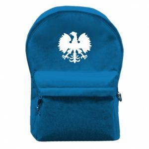 Plecak z przednią kieszenią Heraldyczny orzeł