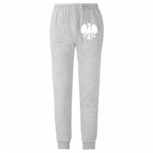 Spodnie lekkie męskie Heraldyczny orzeł