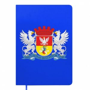 Notepad Bialystok coat of arms