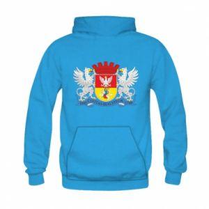Kid's hoodie Bialystok coat of arms