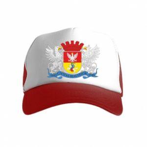 Kid's Trucker Hat Bialystok coat of arms