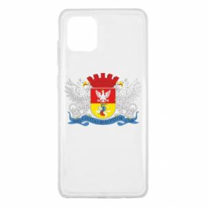 Samsung Note 10 Lite Case Bialystok coat of arms