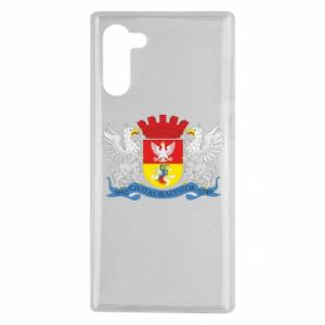 Samsung Note 10 Case Bialystok coat of arms