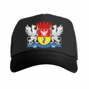 Trucker hat Bialystok coat of arms