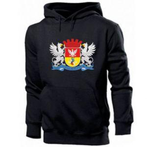 Men's hoodie Bialystok coat of arms