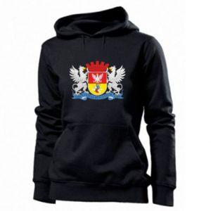 Women's hoodies Bialystok coat of arms