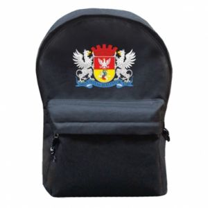 Backpack with front pocket Bialystok coat of arms