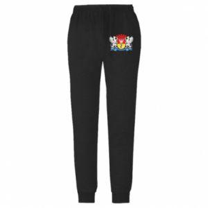 Męskie spodnie lekkie Herb Białegostoku