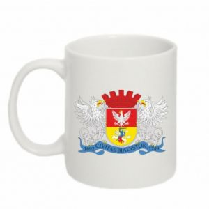 Mug 330ml Bialystok coat of arms