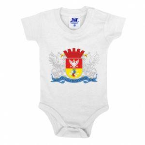 Baby bodysuit Bialystok coat of arms