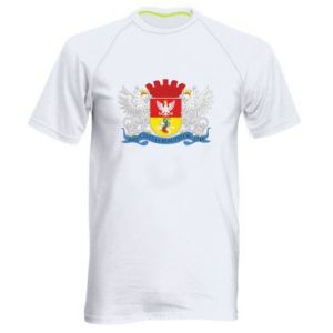 Men's sports t-shirt Bialystok coat of arms