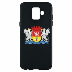 Samsung A6 2018 Case Bialystok coat of arms