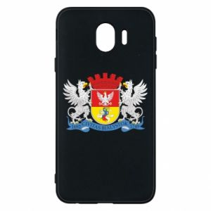 Samsung J4 Case Bialystok coat of arms