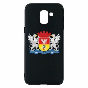 Samsung J6 Case Bialystok coat of arms