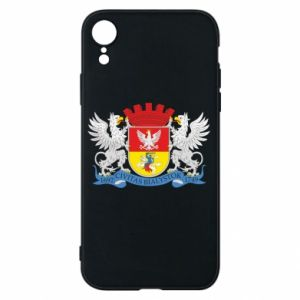 iPhone XR Case Bialystok coat of arms