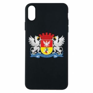 iPhone Xs Max Case Bialystok coat of arms