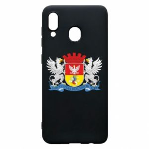 Samsung A20 Case Bialystok coat of arms
