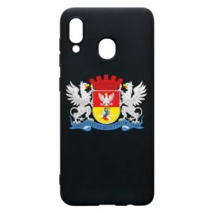Samsung A30 Case Bialystok coat of arms