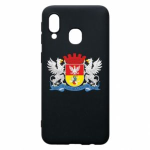 Samsung A40 Case Bialystok coat of arms