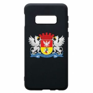 Samsung S10e Case Bialystok coat of arms