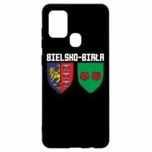 Etui na Samsung A21s Herb Bielska-Biała