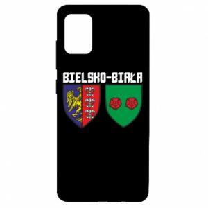 Etui na Samsung A51 Herb Bielska-Biała